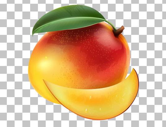 عکس با کیفیت دوربری شده میوه انبه