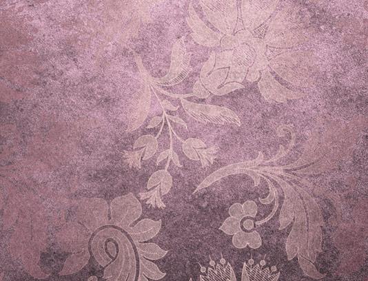 طرح تکسچر و بکگراند بنفش با گل های سنتی