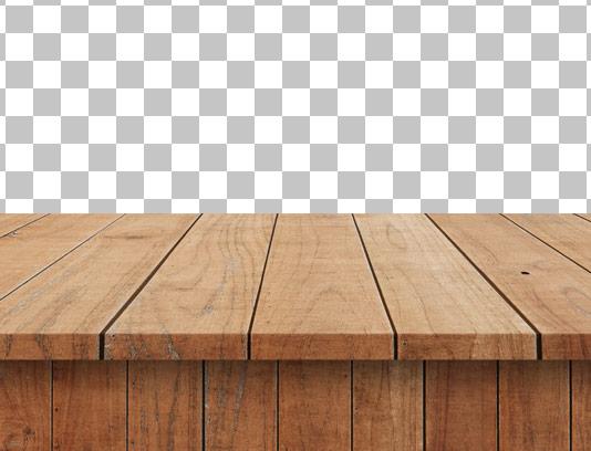 عکس دوربری شده میز چوبی شماره ۰۴