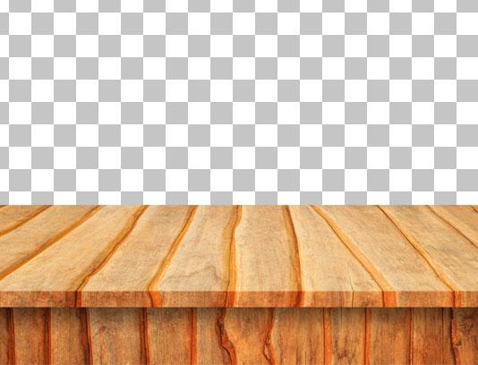 عکس با کیفیت و دوربری شده میز چوبی شماره 05