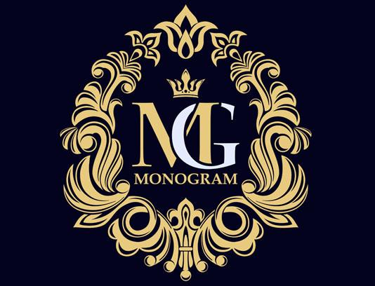 وکتور طرح لوگوی مونوگرام لاکچری شماره ۲۸