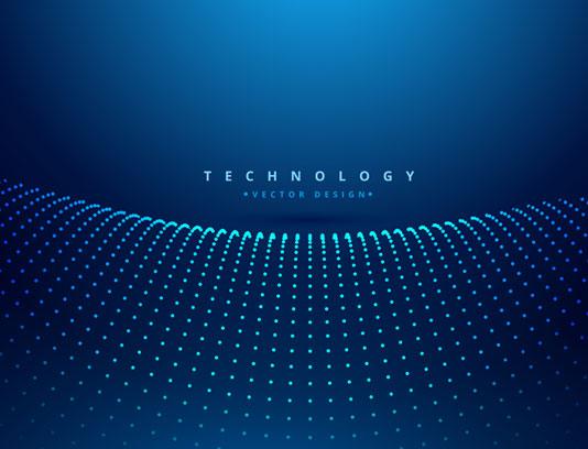 وکتور طرح بکگراند تکنولوژی دیجیتال