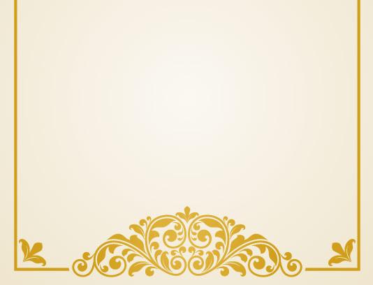 وکتور فریم یا قاب طلایی