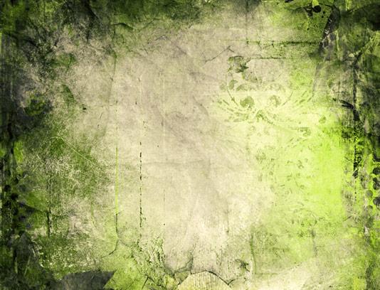 تکسچر و پس زمینه گرانج سبز رنگ