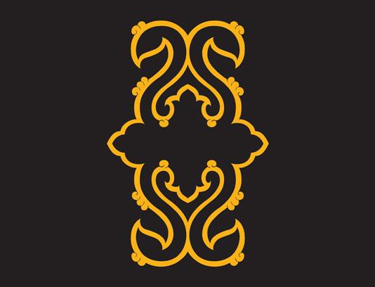 وکتور طرح نماد و المان اسلامی شماره ۷۸