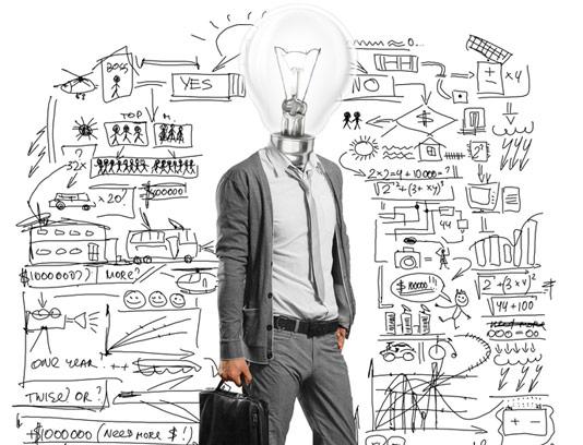 عکس با کیفیت ایده پردازی در کسب و کار و تجارت