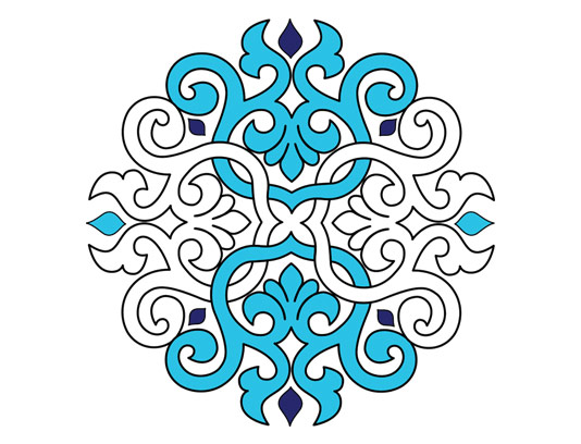 وکتور طرح المان و نماد اسلامی شماره ۸۴