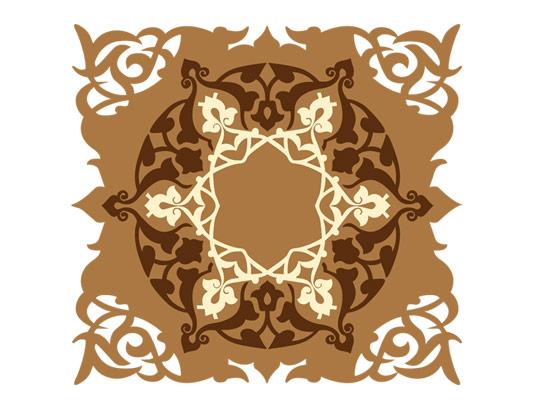 وکتور طرح المان و نماد اسلامی شماره ۸۲