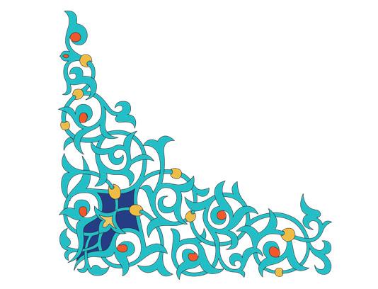 وکتور طرح المان و نماد اسلامی شماره ۸۳