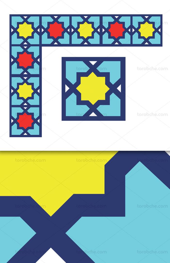 وکتور طرح المان و نماد اسلامی شماره ۷۹