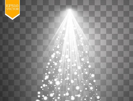 وکتور افکت نور بدون پس زمینه شماره ۳۵