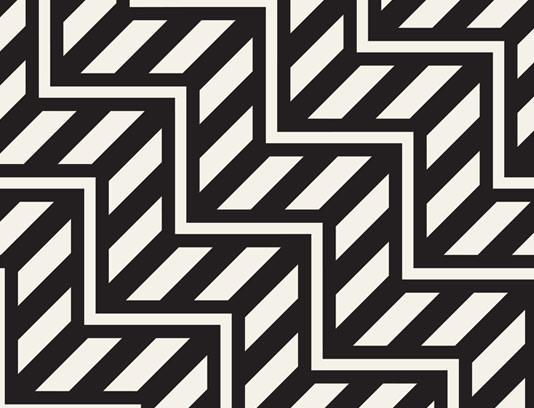 وکتور پترن خلاقانه و انتزاعی سیاه و سفید