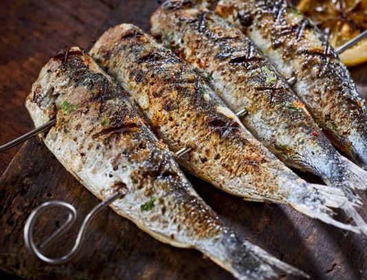 عکس با کیفیت ماهی کبابی