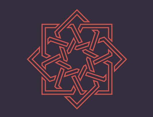 وکتور طرح لوگو و نماد ژئومتریک مدرن
