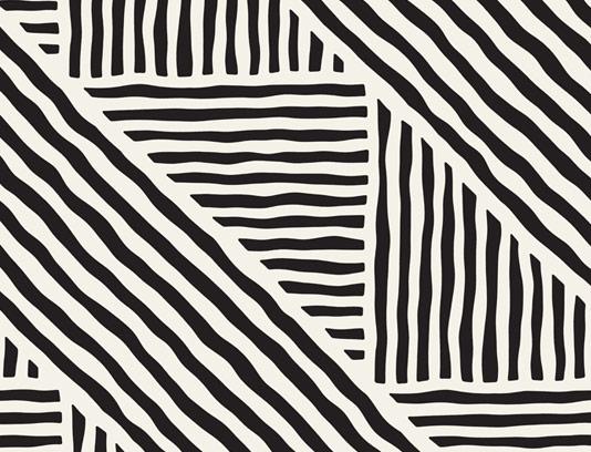 وکتور طرح پترن خطوط انتزاعی کشیده شده با دست