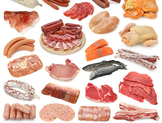عکس انواع گوشت با کیفیت عالی