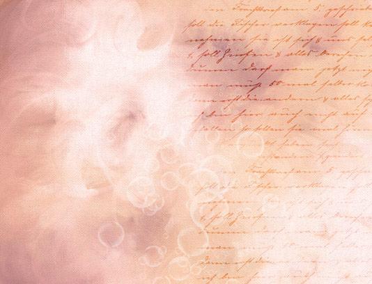 تکسچر و پس زمینه رمانتیک با دستنوشته لاتین