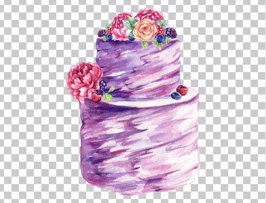 عکس دوربری شده کیک طبقاتی عروسی