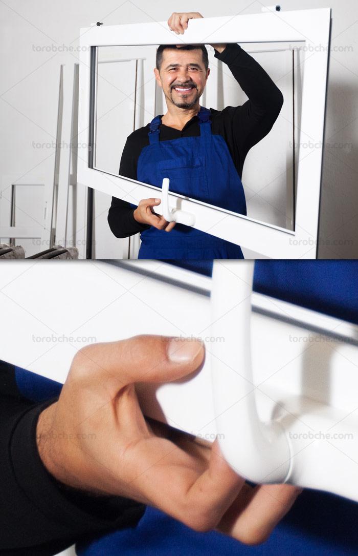 عکس با کیفیت پنجره های دوجداره