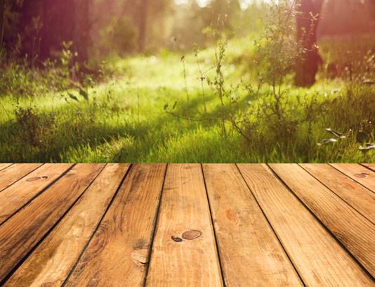 عکس با کیفیت استیج چوبی محصولات طبیعی
