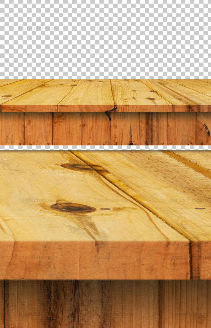 عکس با کیفیت دوربری شده میز چوبی