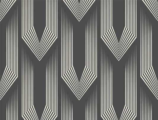 وکتور پترن خلاقانه سه بعدی سیاه و سفید