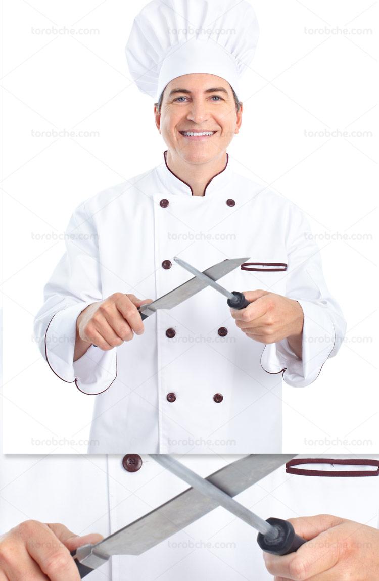 عکس با کیفیت سرآشپز مرد