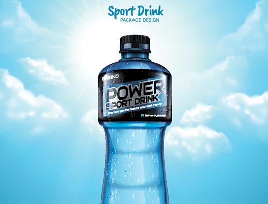 وکتور بطری آب معدنی با کیفیت عالی