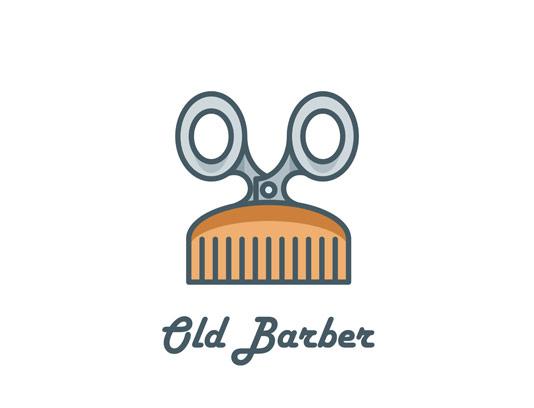 وکتور لوگوی حرفه ای آرایشگری