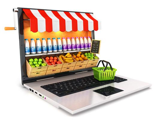 عکس فروشگاه اینترنتی سوپرمارکت
