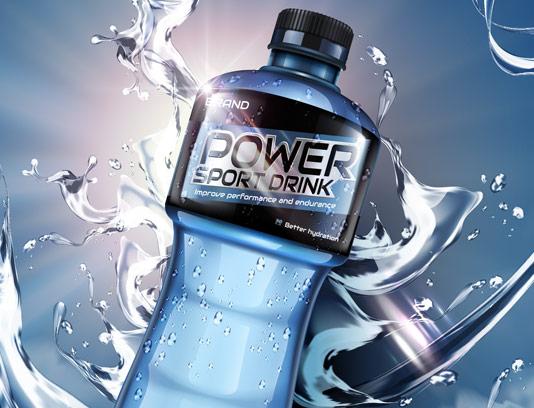 وکتور تبلیغاتی آب معدنی انرژی زا