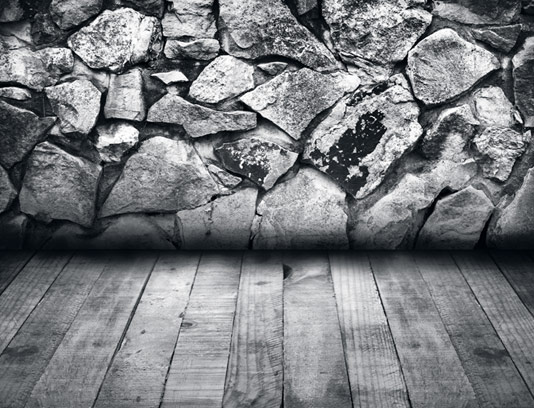تکسچر چوب و دیوار سنگی با کیفیت عالی