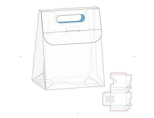 وکتور طرح گستره جعبه کادو