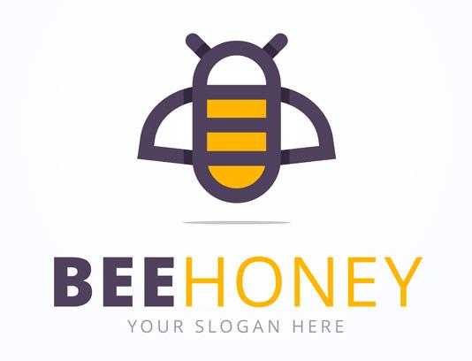 وکتور فلت زنبور عسل