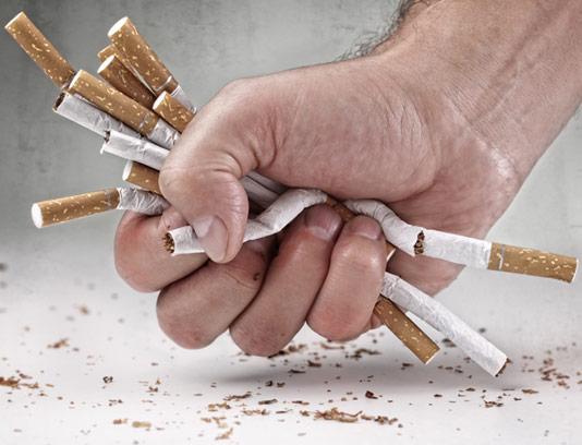 عکس سیگار مچاله شده