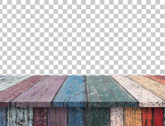عکس دوربری شده ی میز رنگی