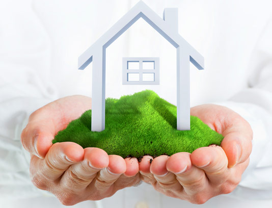 عکس مفهومی بیمه خانه