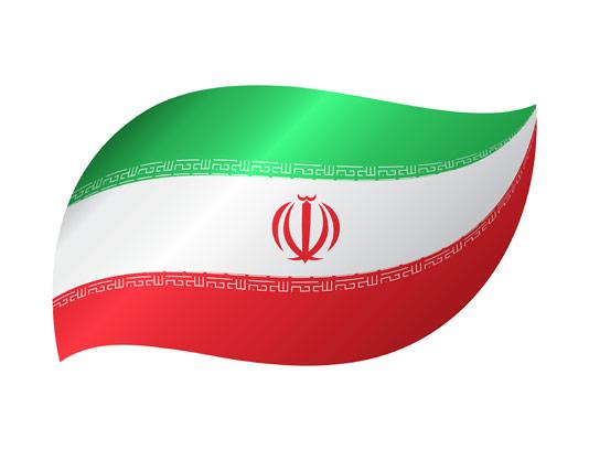 وکتور طرح خلاقانه پرچم ایران