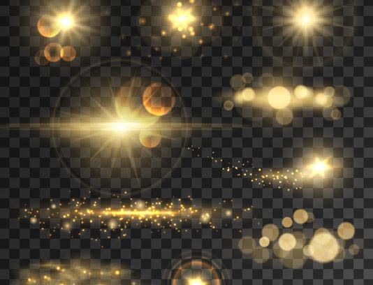 وکتور حالت های نوری طلایی