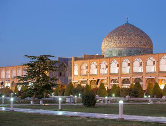 عکس با کیفیت گنبد مسجد شیخ لطف الله