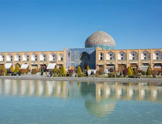 عکس با کیفیت مسجد شیخ لطف الله