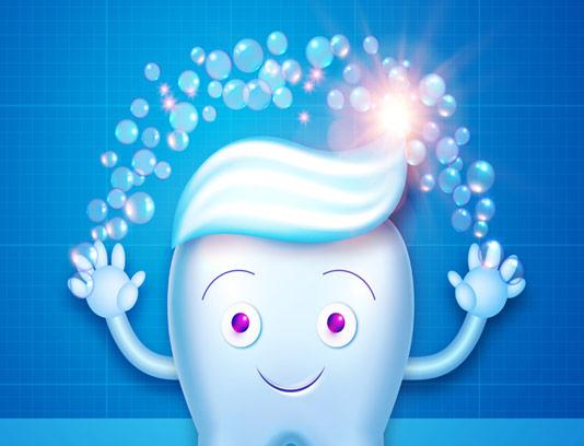 وکتور پوستر روز جهانی دندانپزشک