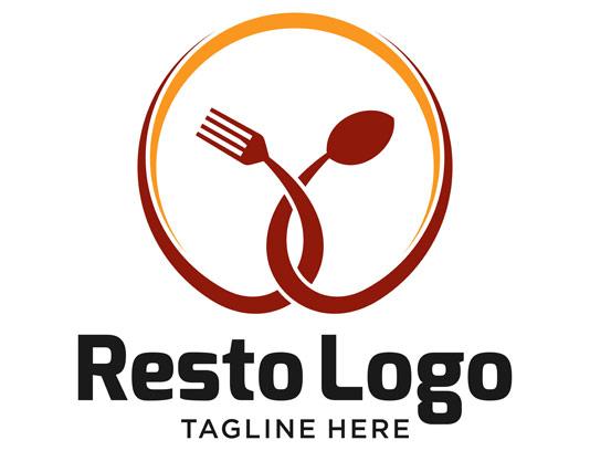 وکتور حرفه ای لوگو رستوران