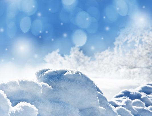عکس با کیفیت منظره برفی
