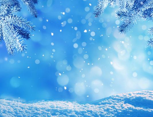 عکس زیبای منظره برفی