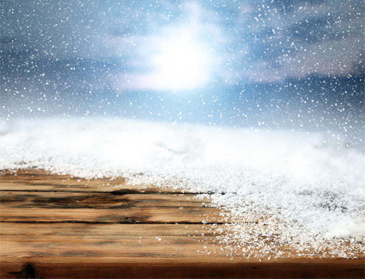 عکس با کیفیت بارش برف