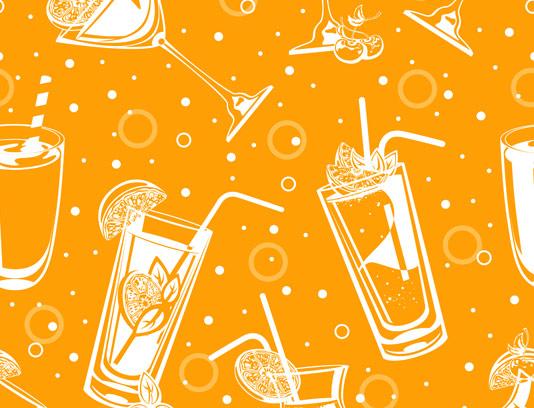 وکتور بکگراند نوشیدنی های طبیعی