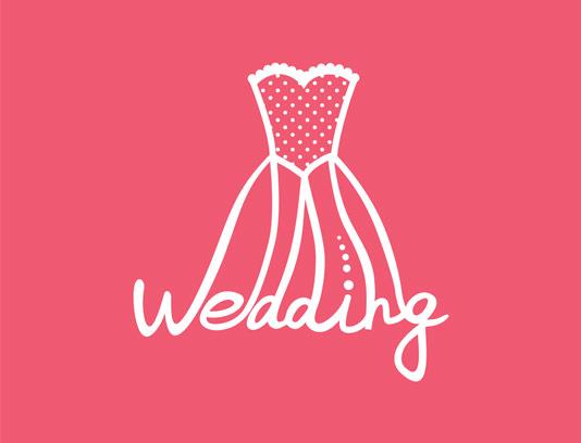 وکتور لوگو فروشگاه لباس عروس