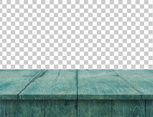 عکس دور بری شده میز چوبی