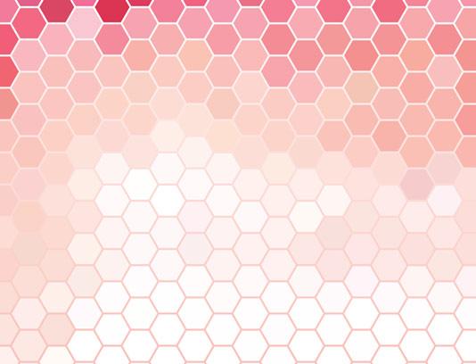 وکتور پس زمینه انتزاعی شش ضلعی